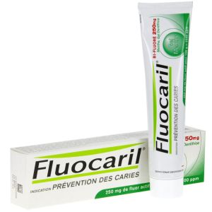 Fluocaril - Gel dentifrice bi-fluoré 250 mg Menthe - 75 ml