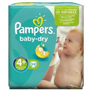Pampers - Baby dry - 24 couches