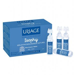 Uriage - Isophy sérum physiologique naturel - 18 unidoses