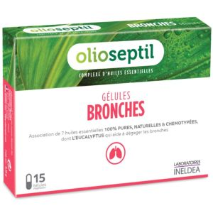 Olioseptil - Bronches - 15 gélules