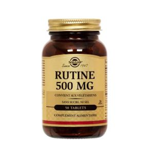 Solgar - Rutine 500mg - 50 tablets