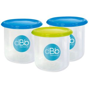 DBB Remond - Set de 3 pots congélation - 3 x 300ml