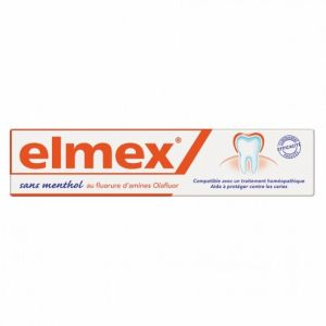 Elmex - Dentitrice Anti-Caries Sans menthol - 75ml