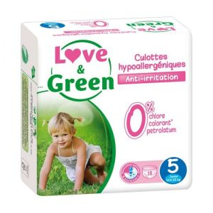 Love & Green - Culottes Taille 5 - 18 culottes