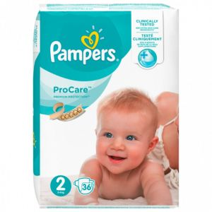 Pampers - ProCare Taille 2 - 36 couches