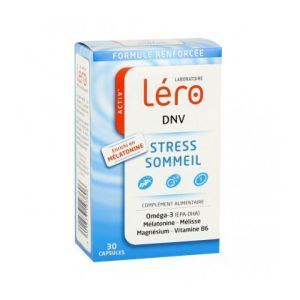 Léro - DNV - stress, sommeil - 30 capsules