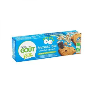 Good Goût Kidz - Biscuits bio chocolat graines - 3 lots de  3 biscuits