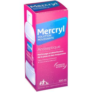 Mercryl - solution moussante antiseptique - 300 ml