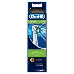 Oral B Cross Action 3 brossettes de rechange
