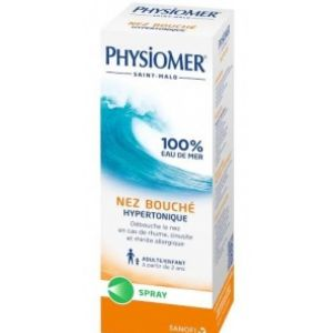 Physiomer - nez bouché hypertonique - flacon 135ml