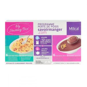 Milical My starting Box - 12 sachets repas