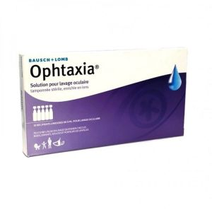 Ophtaxia - Solution pour lavage oculaire - 10 x 5 ml unidoses