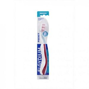 Elgydium - Brosse à dents Pocket - Brosse médium