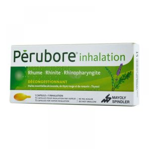 Pérubore - Inhalation - 15 capsules