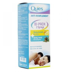 Quies - Bi-Pack - Spray buccal + Spray nasal