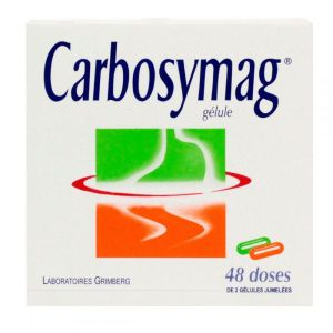 Carbosymag gélules - 48 doses