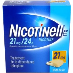 Nicotinell TTS 21mg/24h - 28 dispositifs transdermiques