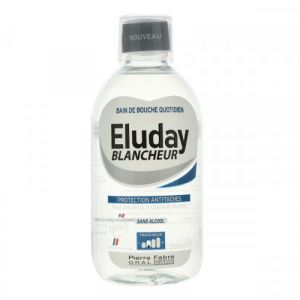 Eluday Blancheur - Bain de bouche protection anti-taches - 500 ml