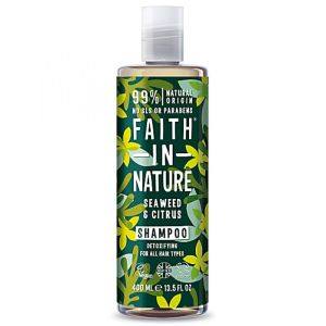 Faith in Nature - Shampooing algues et agrumes - 400 ml