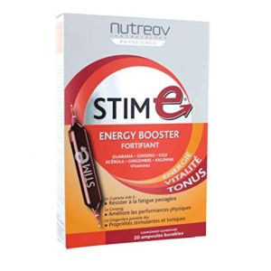 Nutreov - STIM E energy booster - 20 ampoules