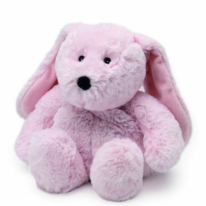 Warmies - Bouillotte cozy peluche lapin rose