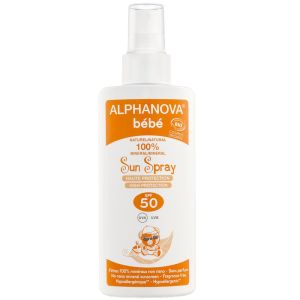 Alphanova Bébé - Sun spray haute protection SPF 50 - 125 g