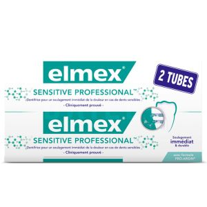 Elmex - Dentifrice dents sensibles Sensitive Professional