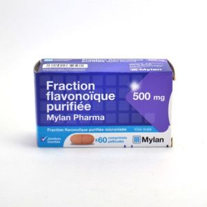 Fraction flavonoïque purifiée - 500mg