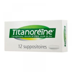 Titanoréïne - 12 suppositoires