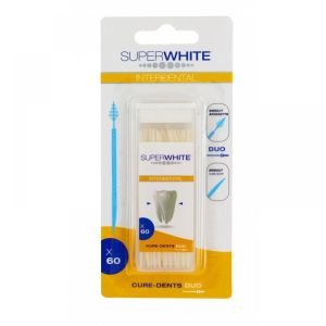 Super White - Interdental - 60 cure-dents duo