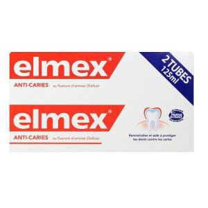 Elmex anti-caries pâte - 2x125mL