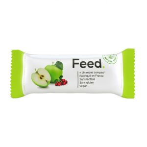 Feed - Barre repas pomme cranberries - 100 g