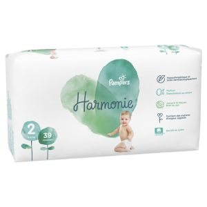 Pampers - Harmonie couches taille 2 - 4 à 8 kg