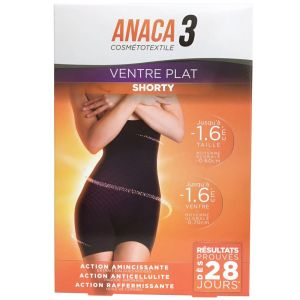 Anaca 3 - Shorty ventre plat