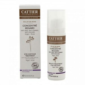 Cattier - Concentré regard Éclat de rose - 15 ml