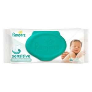 PAMPERS sensitive - 56 lingettes