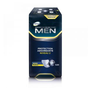 TENA - MEN niveau 2 - 20 protections
