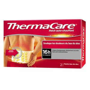 ThermaCare - Patchs auto-chauffant douleurs dorsales - 2 patchs