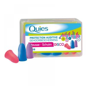 Quies - Protection auditive mousse disco - 3 paires