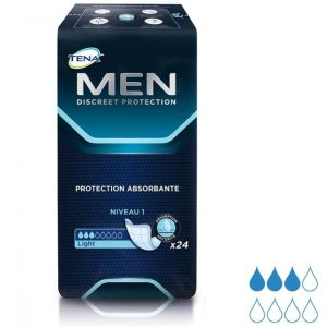 TENA - MEN Niveau 1 - 24 protections