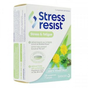 Stress Resist - Stress & Fatigue - 30 Comprimés