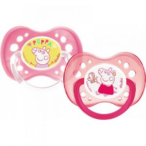 Dodie - Sucettes anatomiques +18 mois - Peppa Pig Fille
