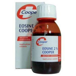 Cooper - Éosine 2% solution asséchante - 50 ml