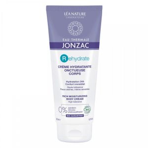 Jonzac REhydrate - Crème hydratante onctueuse corps - 200 ml