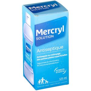 Mercryl - solution antiseptique - 125 ml