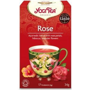 Yogi Tea - Rose 17 sachets - 34g