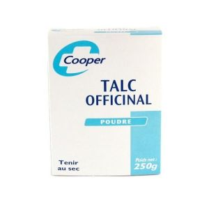 Cooper - Talc officinal - 250 g