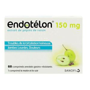 Endotélon 150 mg - 60 comprimés