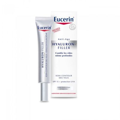prix d 39 eucerin hyaluron filler soin contour des yeux 15ml. Black Bedroom Furniture Sets. Home Design Ideas