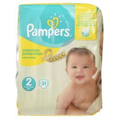 Prix de pampers new baby t2 3 6 kg 31 couches - Comparateur de prix couches pampers ...